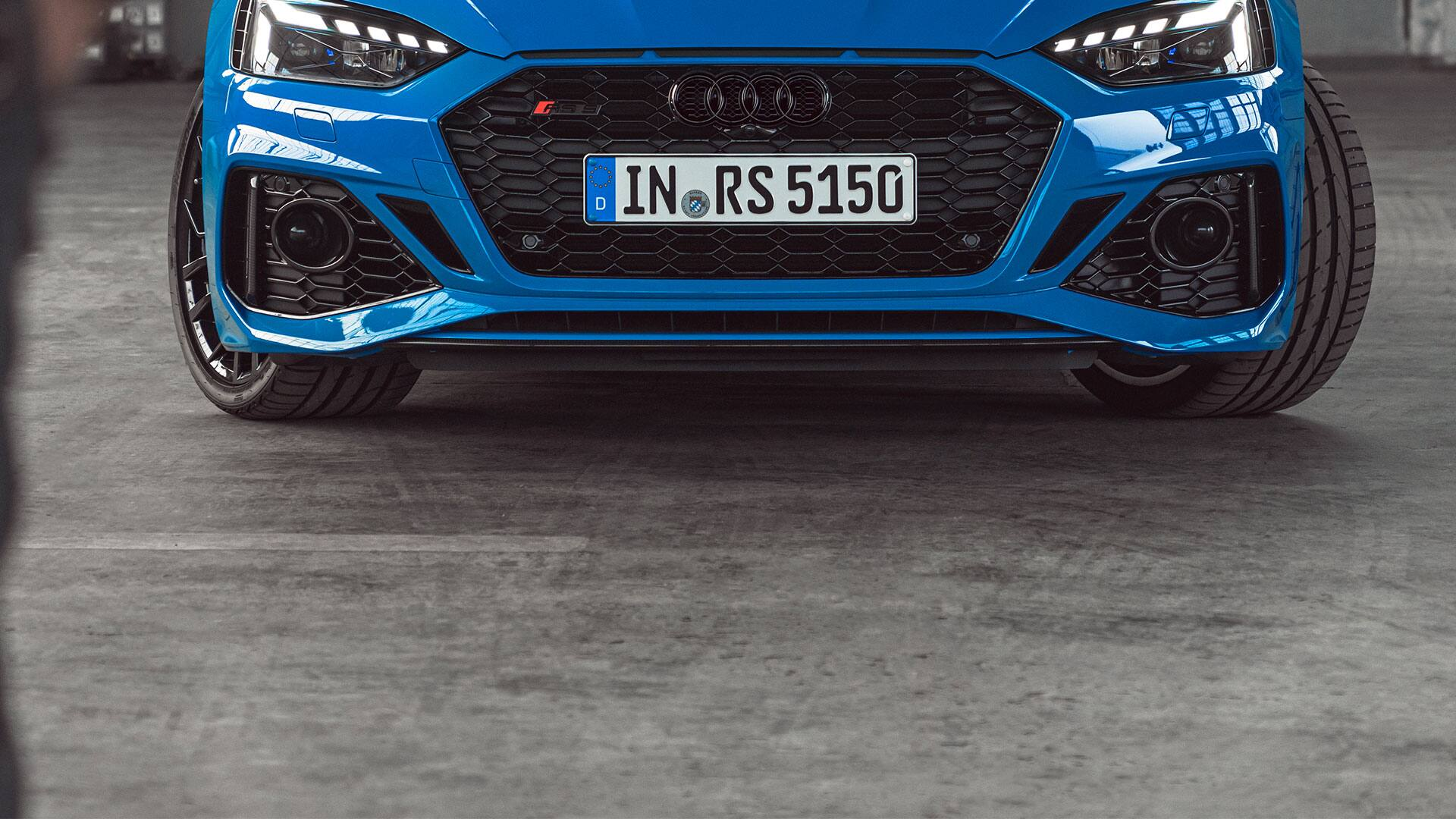 Front view Audi RS 5 Coupé